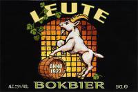 Leute Belgisch Bokbier