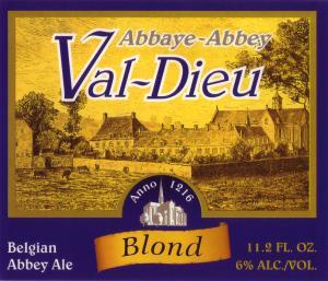 Abbaye du Val Dieu Blond