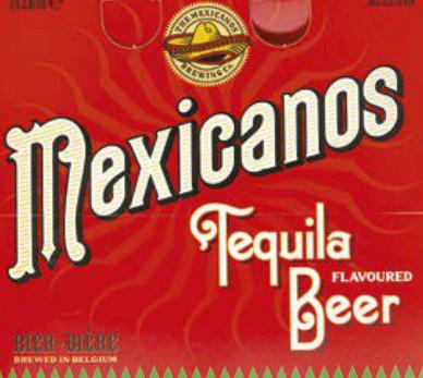 Mexicanos Tequila Beer