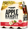 Promotie Apple Bandit Crispy Apple set van 6 flesjes van 0,3 liter