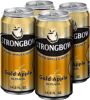 Promotie Strongbow Gold apple 4pack